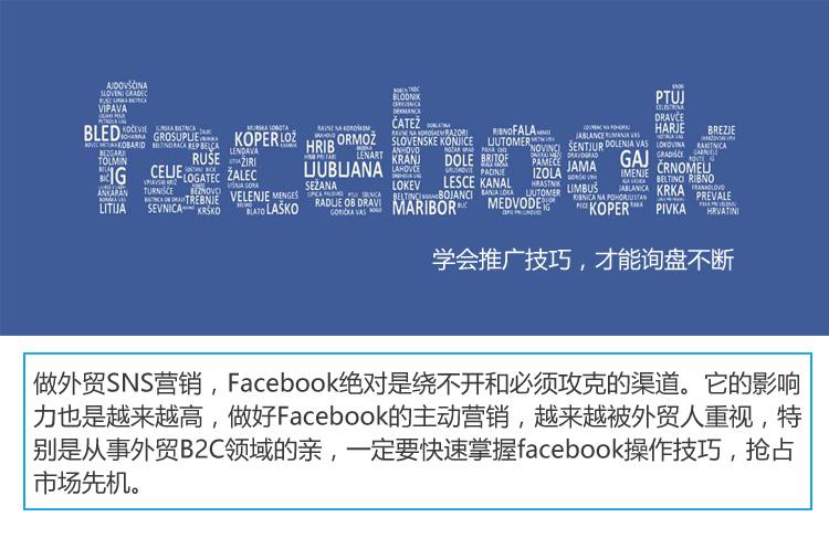facebook营销