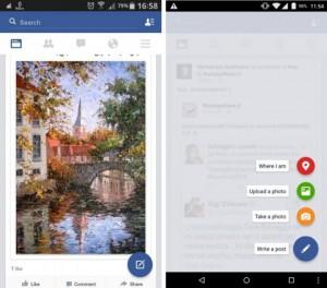 Facebook正在为新版本的 Android App 进行测试