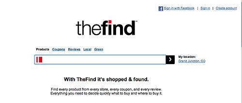 Facebook收购了社交购物网站TheFind