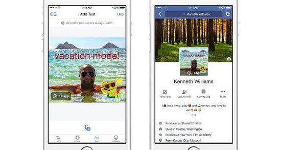 Facebook将推出视频版头像功能