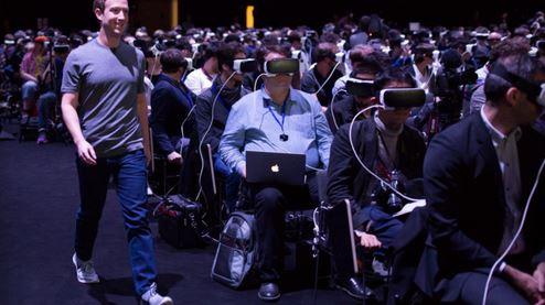Facebook是较早布局VR领域科技公司之一