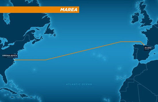 Facebook打造跨大西洋海底光缆