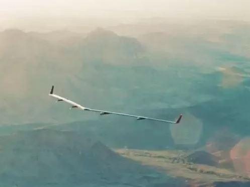 Facebook无人机成功完成了首次飞行