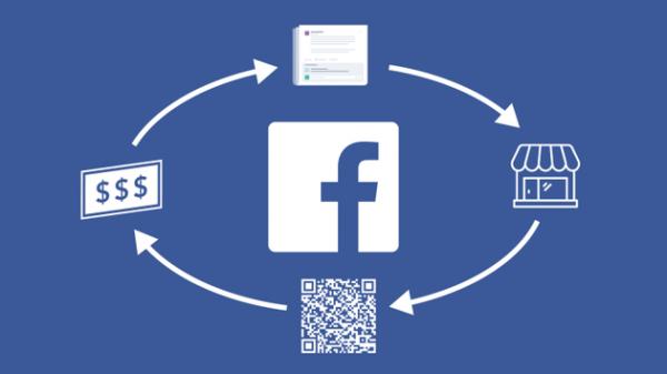 Facebook推扫一扫二维码付款功能
