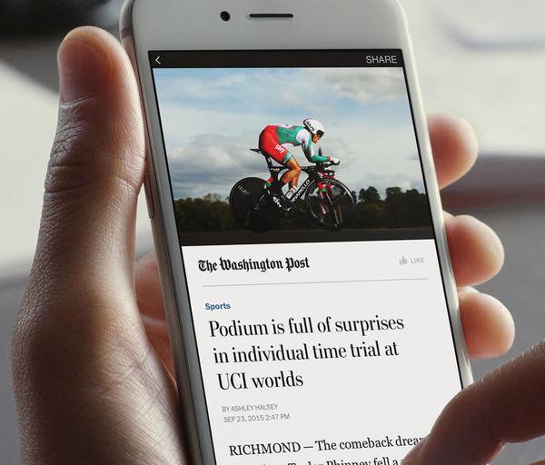 Facebook推新闻付费订阅功能。