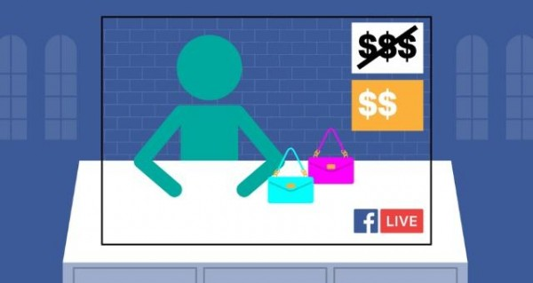 Facebook推直播购物功能